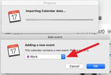 Calendar Subscription iCal Sync