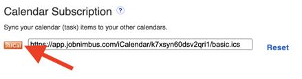Calendar - Sync with iCal