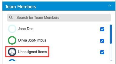 v2 unassigned items