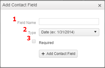 Contact Add Custom Field2