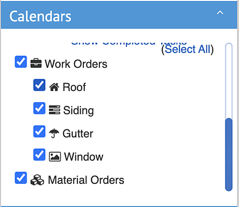 Material Orders - How to mange Material Order view