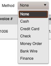 Payments - Default Payment Methods