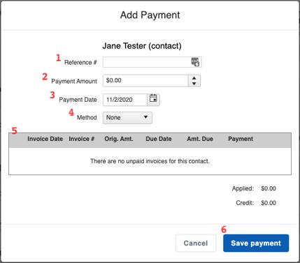 Financials - Payment Builder