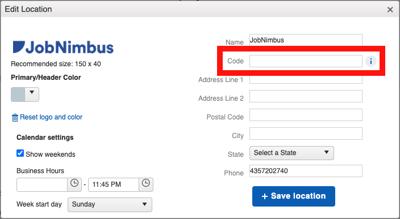 Custom ID - Company Code