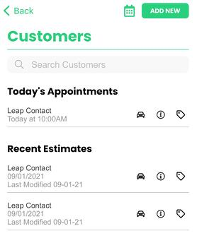leap mobile customers page