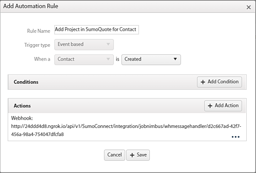 SumoQuote Automation Contact