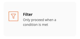 Zapier - Add a Filter