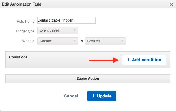 edit zapier automation