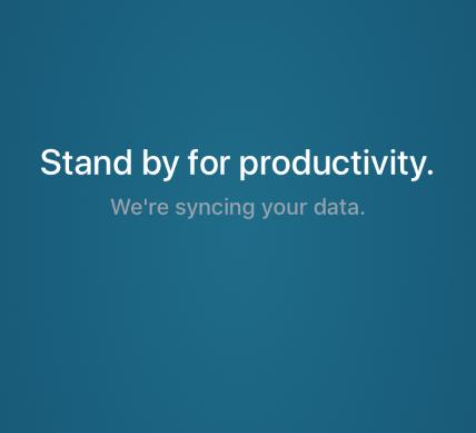 Mobile App Loading Productivity