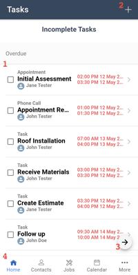 Mobile App - Tasks-1