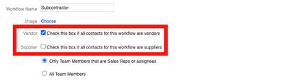 Subcontractor - Workflow