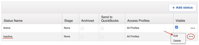 sub workflow edit inactive status