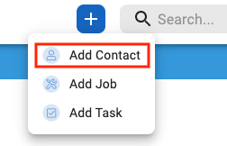 v2 add contact plus sign