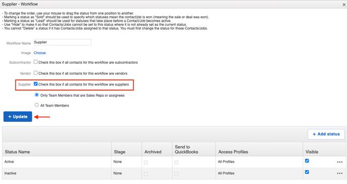 v2 supplier edit workflow page