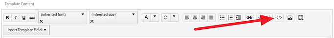 Document Template Toolbar Panel