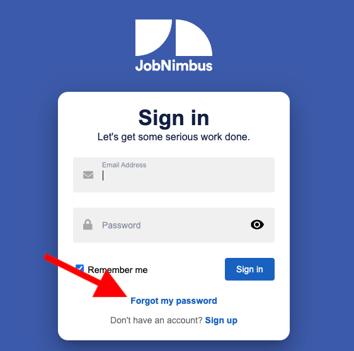 Troubleshooting - Forgot Password Web2