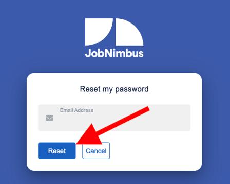 Troubleshooting - Reset Password Web