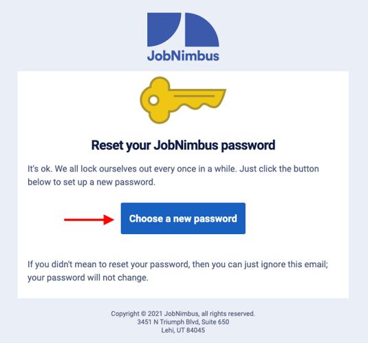 v2 reset password email